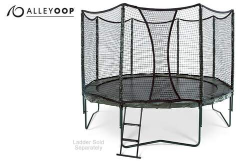 AlleyOOP 12' Trampoline with Enclosure product image