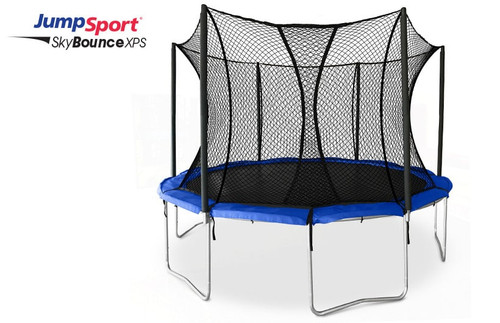 JumpSport SkyBounce XPS 12' Trampoline with Enclosure product image