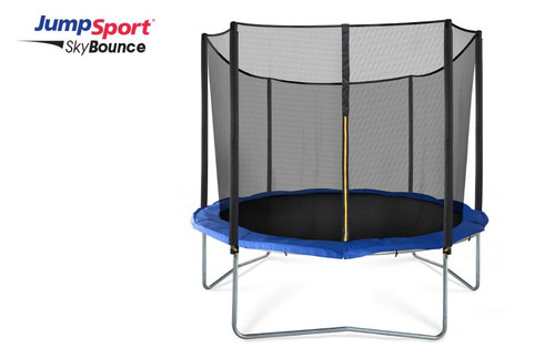 JumpSport SkyBounce 10' Trampoline with Enclosure product image