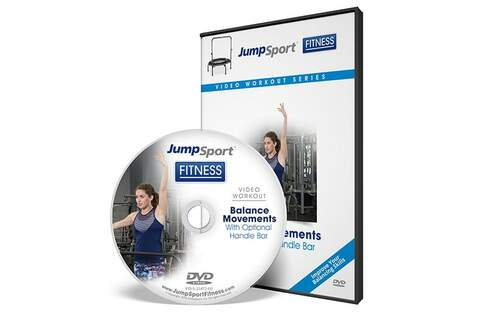 Balance Movements Fitness Trampoline Workout DVD