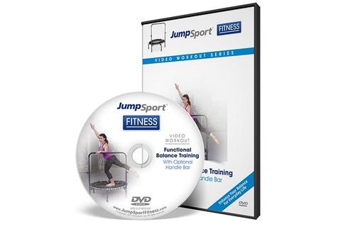 Functional Balance Training Fitness Trampoline Workout DVD
