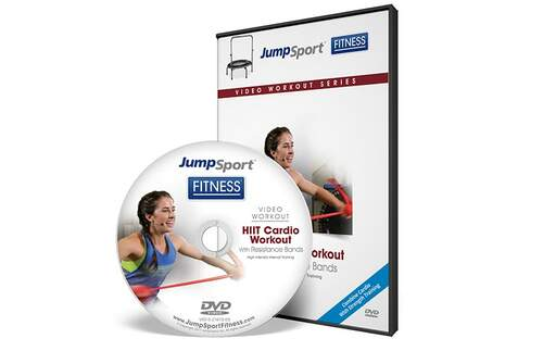 HIIT Cardio Workout Fitness Trampoline Workout DVD product image