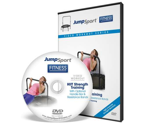 HIIT Strength Training with Handle Bar and Resistance Bands DVD product image