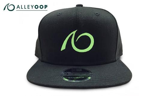 AlleyOOP Logo Flat Brim Snapback Hat