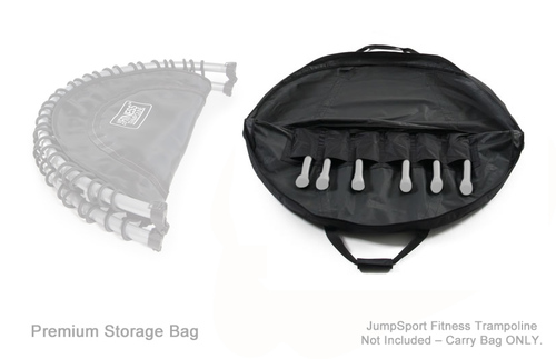"Storage & Carry Bag for Half-Fold 39"" JumpSport Fitness Trampolines – Premium product image"