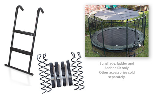 Sunny Bundle (incl. SunShade Canopy, Anchor Kit, SureStep Ladder)