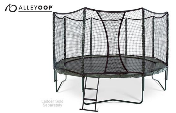 AlleyOOP 14' Trampoline with Enclosure