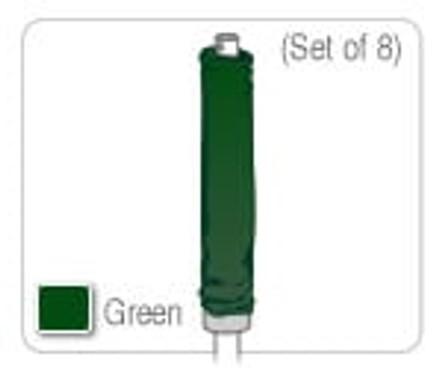 Enclosure Sleeve Kit (set of 8 sleeves, no foam)