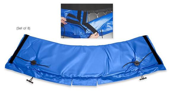 Standard Universal Trampoline Frame Pad – Blue