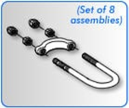 U-Bolt Kit (Set of 8 Assemblies)