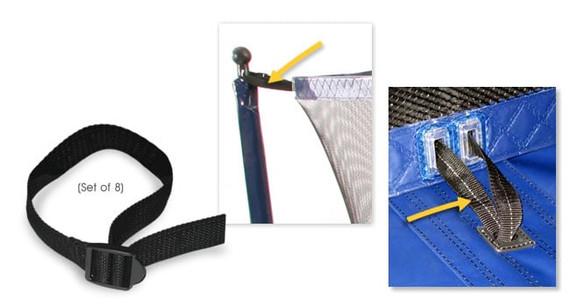 Net Strap Kit – Short (set of 8)
