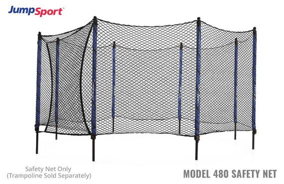 Model 480 Trampoline Safety Net Enclosure