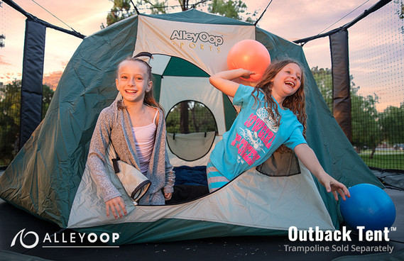 Outback Tent For Trampolines