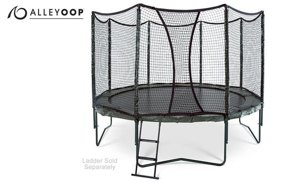 AlleyOOP 12' Trampoline with Enclosure