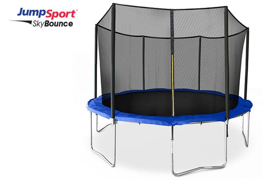 JumpSport SkyBounce 12' Trampoline with Enclosure