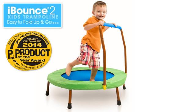 iBounce 2 Kids Trampoline (folding)