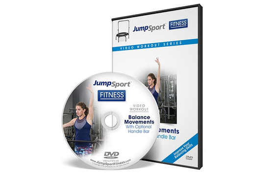 Balance Movements Fitness Trampoline Workout DVD