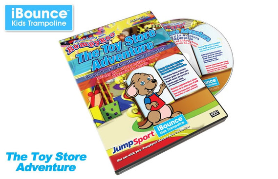 The Toy Store Adventure Active Learning DVD