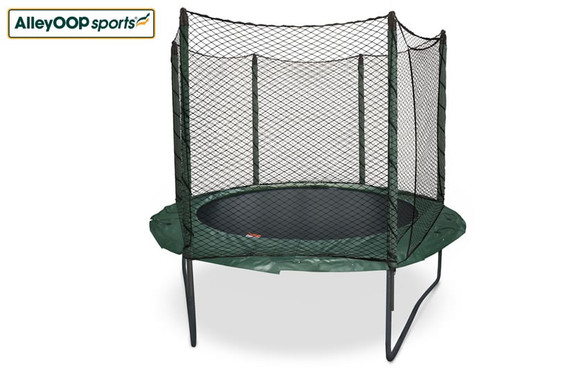 Original AlleyOOP 10' Trampoline with Enclosure