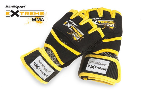 JumpSport Extreme Training Gloves yellow