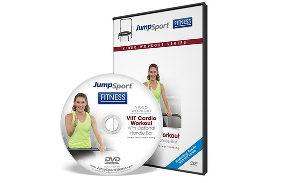 VIIT Cardio Workout Fitness Trampoline Workout DVD