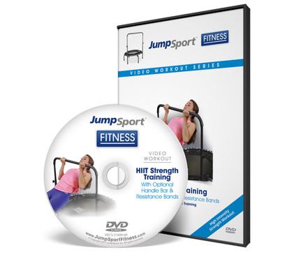 HIIT Strength Training with Handle Bar and Resistance Bands DVD