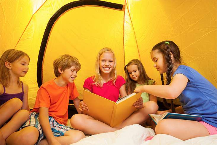 Camping on Your Trampoline Sleepover?