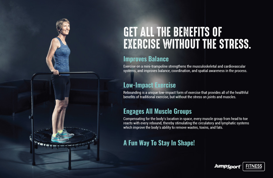 Trampoline Exercise for Seniors