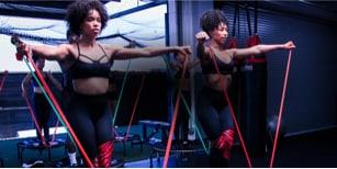 200 Series Fitness Trampoline