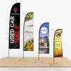 8.2' Tall Straight Feather Small Outdoor Flag