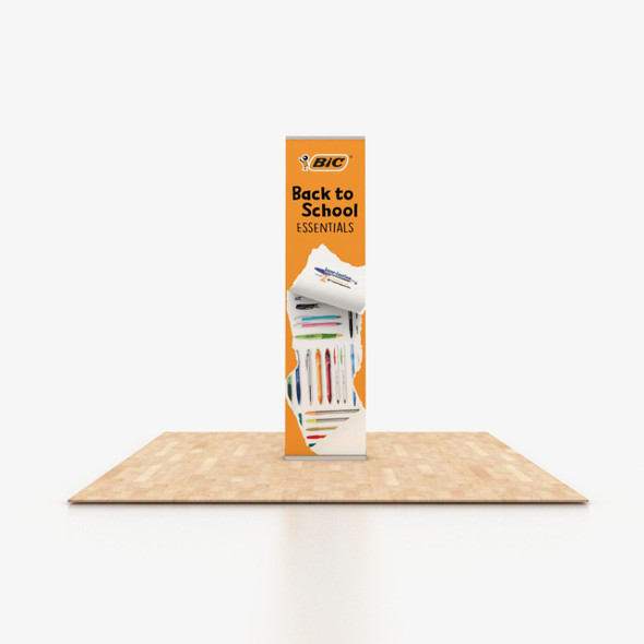 """24"""" x 96"""" Fabric Print Retractable Banner Stand"""