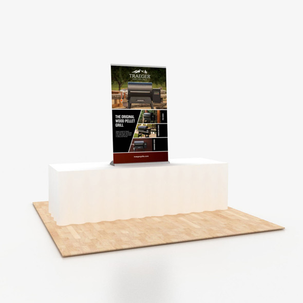 """36"""" x 60"""" Vinyl Print Portable Retractable Banner Stand Table Top Display"""