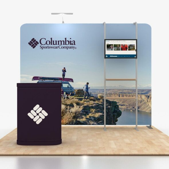 10' x 10' Modular Straight Portable Trade Show Booths