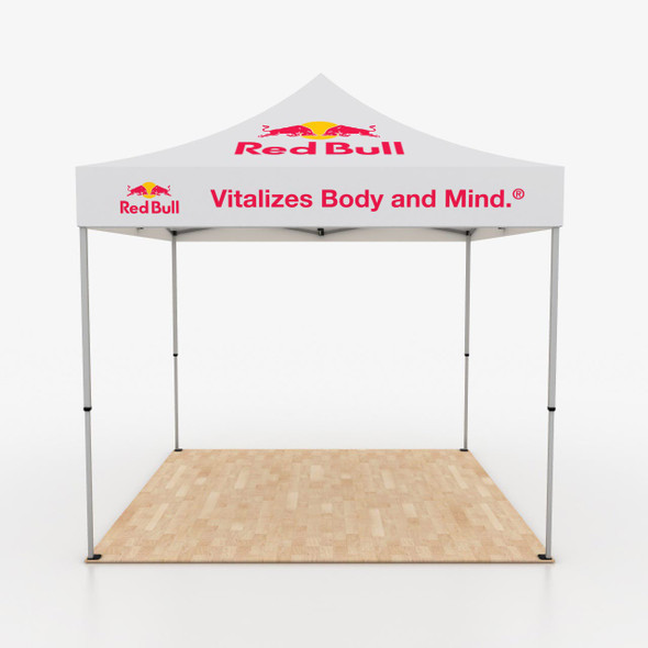 10' Outdoor Pop Up Event Tent  with Custom Print Graphic Canopy