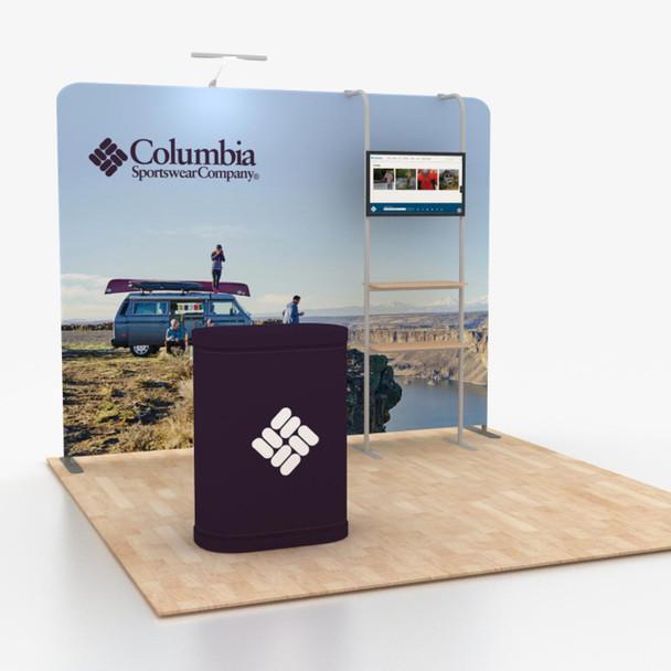 10' x 10' Modular Straight Portable Trade Show Displays