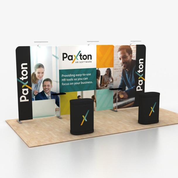 10' x 20' Foot Fabric Portable Trade Show Display Kit B1D1B1