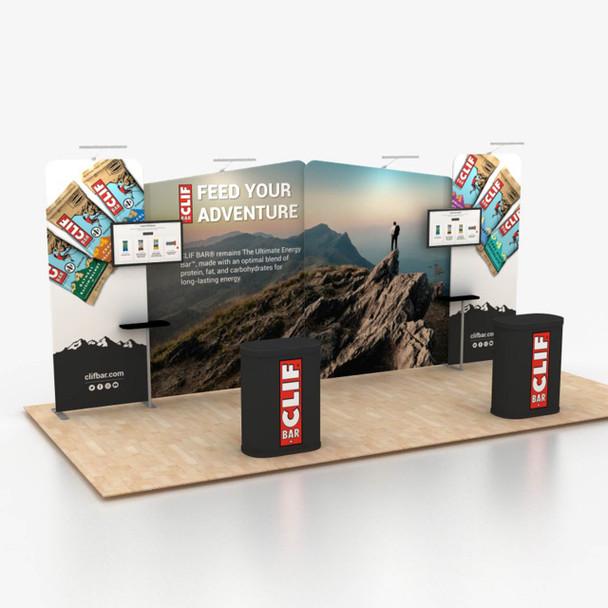 10' x 20' Foot Portable Modular Trade Show Display Kit