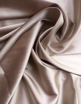Stretch Charmeuse Taupe