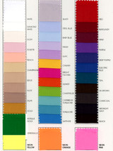 Poly Crepe de Chine Color Card
