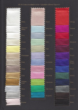 Zino Silk Collection Color Card