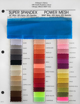 Power Mesh Color Card, Left Side