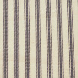 Cotton Ticking Navy