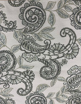 "TRUDY FLORAL TAPESTRY - PAISLEY PATTERN - ""SAGE"""