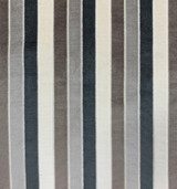 William Velvet Stripe - Multi Taupeish