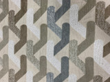 Texas Geometric Chenille - Beige / Grey