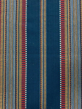 Sioux Southwest Cotton Stripe - Blue Cotton Fabric