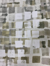 Kleerie Polyester Print Contemporary - Charcoal / Taupe