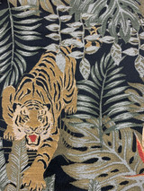 Jungle Tiger Tropical - Black / Gold