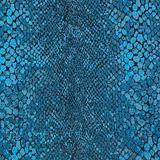 Sebastian Snakeskin Metallic Brocade - Teal