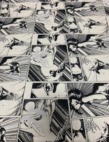 Comic Book Art - Black / White
